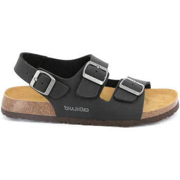 Zapatos Hombre Sandalias Grunland SB3645 Negro