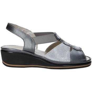 Zapatos Mujer Sandalias Grunland SA1412 Gris