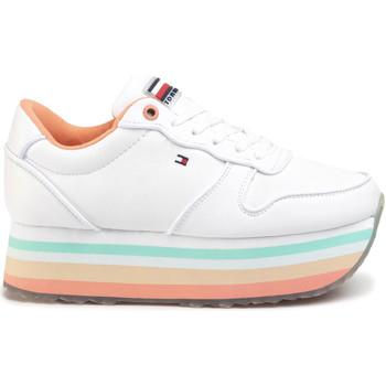 Zapatos Mujer Zapatillas bajas Tommy Hilfiger FW0FW04702 Blanco