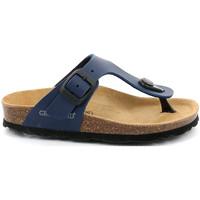 Zapatos Niños Chanclas Grunland CB0926 Azul