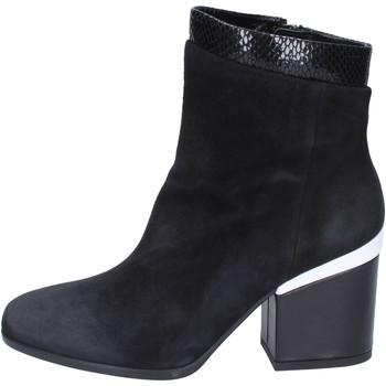 Zapatos Mujer Botines Hogan BK687 Negro
