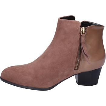 Zapatos Mujer Botines Hogan BK688 Marrón
