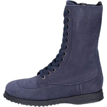 Zapatos Mujer Botines Hogan BK692 Azul