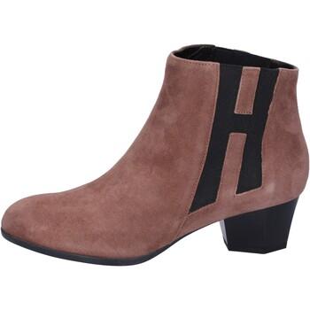 Zapatos Mujer Botines Hogan BK699 Marrón