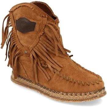 Zapatos Mujer Botines Ainy JH20-78 Camel