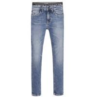 textil Niño Vaqueros slim Calvin Klein Jeans SKINNY VINTAGE LIGHT BLUE Azul
