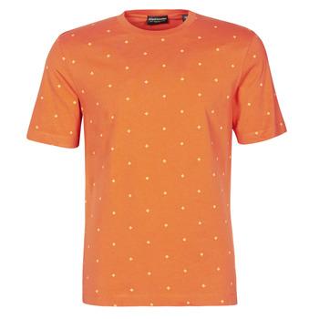 textil Hombre Camisetas manga corta Scotch & Soda 160854 Rojo