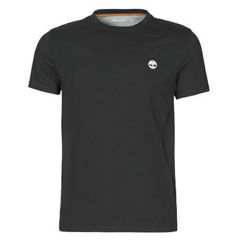 textil Hombre Camisetas manga corta Timberland SS DUNSTAN RIVER POCKET TEE SLIM Negro