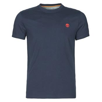 textil Hombre Camisetas manga corta Timberland SS DUNSTAN RIVER POCKET TEE SLIM Marino
