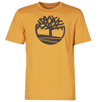 textil Hombre Camisetas manga corta Timberland SS KENNEBEC RIVER BRAND TREE TEE Camel
