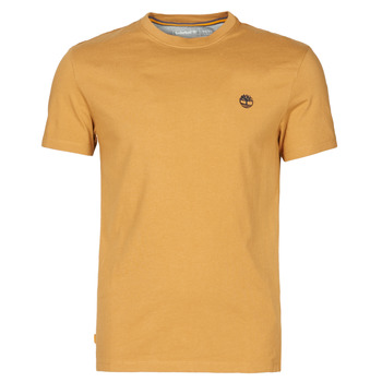 textil Hombre Camisetas manga corta Timberland SS DUNSTAN RIVER POCKET TEE SLIM Beige
