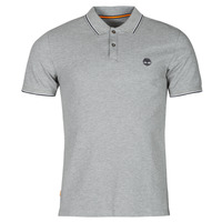 textil Hombre Polos manga corta Timberland SS MILLERS RIVER TIPPED PIQUE SLIM Gris