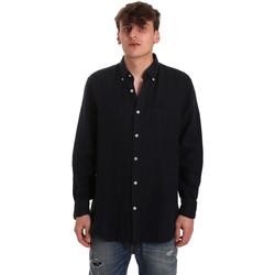textil Hombre Camisas manga larga Navigare NV91108 Azul