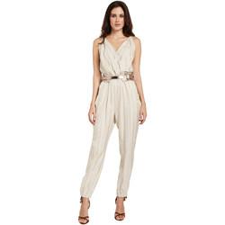 textil Mujer Monos / Petos Gaudi 011FD25028 Beige