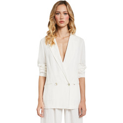 textil Mujer Chaquetas / Americana Gaudi 011FD35012 Blanco
