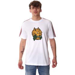 textil Hombre Camisetas manga corta Sprayground 20SP032WHT Blanco