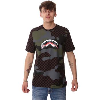 textil Hombre Camisetas manga corta Sprayground SP01820BRO Marrón