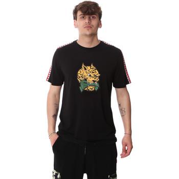textil Hombre Camisetas manga corta Sprayground 20SP032BLK Negro