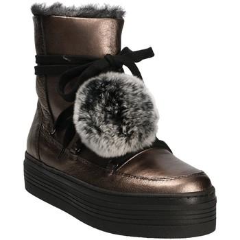 Zapatos Mujer Botas de nieve Mally 5991 Gris