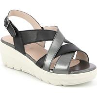 Zapatos Mujer Sandalias Grunland SA1877 Negro