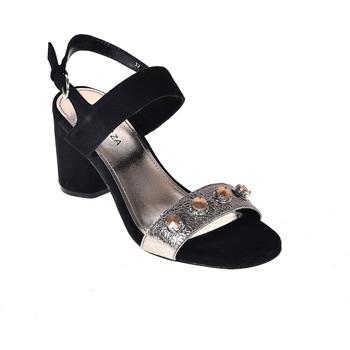 Zapatos Mujer Sandalias Apepazza PRS04 Negro