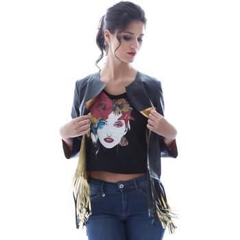 textil Mujer Chaquetas / Americana Grace Shoes DF131 Negro