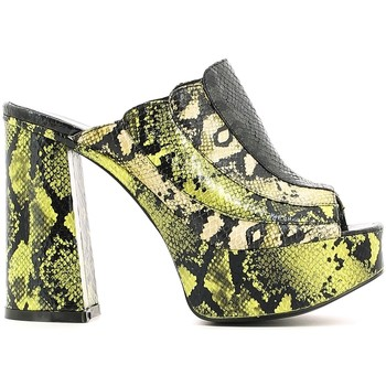 Zapatos Mujer Sandalias Police 883 JF1216 Verde