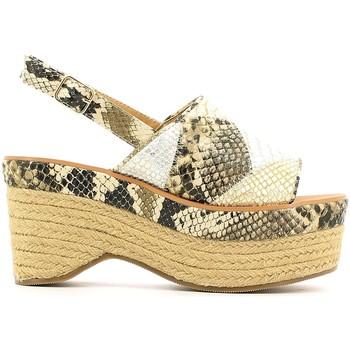 Zapatos Mujer Sandalias Police 883 V90 Verde