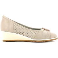 Zapatos Mujer Bailarinas-manoletinas Le Cucche 831316 Beige