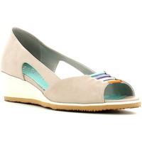 Zapatos Mujer Bailarinas-manoletinas Le Cucche 841304 Beige