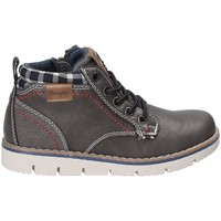 Zapatos Niños Zapatillas altas Wrangler WJ17215 Gris