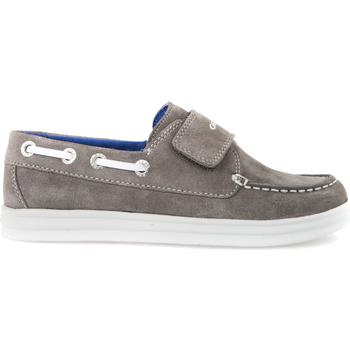 Zapatos Niños Mocasín Geox J723HF 022BC Gris