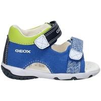 Zapatos Niños Sandalias Geox B82L8B 01054 Azul
