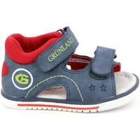 Zapatos Niños Sandalias Grunland PS0017 Azul