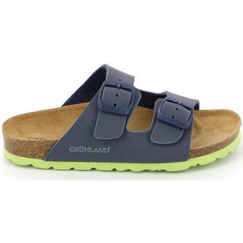 Zapatos Niños Zuecos (Mules) Grunland CB1537 Azul