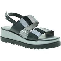 Zapatos Mujer Sandalias Pregunta IAD19394 Gris