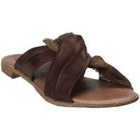 Zapatos Mujer Zuecos (Mules) 18+ 6113 Marrón