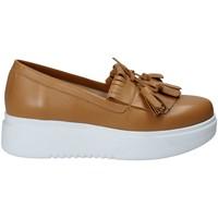 Zapatos Mujer Slip on Exton E01 Marrón