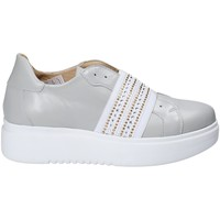 Zapatos Mujer Slip on Exton E05 Gris