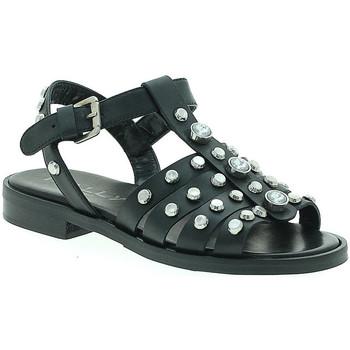 Zapatos Mujer Sandalias Mally 6134 Negro