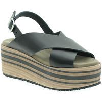 Zapatos Mujer Sandalias Pregunta IBH5803 Negro