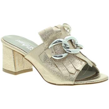Zapatos Mujer Alpargatas Pregunta IAB492441-R Oro