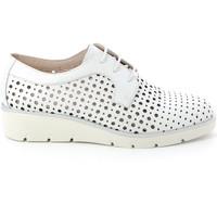 Zapatos Mujer Derbie Grunland SC4494 Blanco