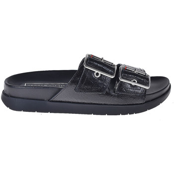 Zapatos Mujer Zuecos (Mules) Tommy Hilfiger FW0FW03805 Negro