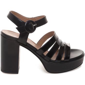Zapatos Mujer Sandalias Janet Sport 43875 Negro