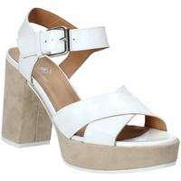 Zapatos Mujer Sandalias Janet Sport 43883 Blanco