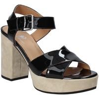 Zapatos Mujer Sandalias Janet Sport 43883 Negro