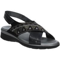 Zapatos Mujer Sandalias Soffice Sogno E9490 Negro