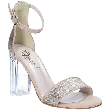Zapatos Mujer Sandalias Grace Shoes 018TR003 Beige
