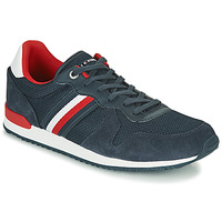 Zapatos Hombre Zapatillas bajas Tommy Hilfiger ICONIC MATERIAL MIX RUNNER Marino